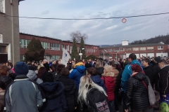 17.2.2020 v 14:10  Mariánské Údolí MORA - Manifestační mítink Odborů